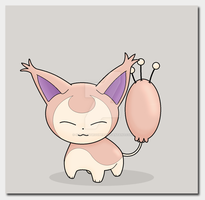 Fanart: #300 Skitty by TheAngryFishbed