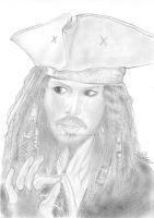 Jack Sparrow by GildaAwesome