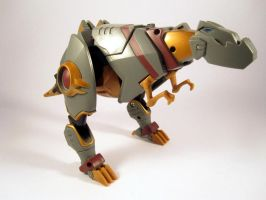 Animated grimlock (alt mode) by scoobsterinc