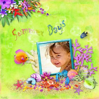 NathL-IlonkasScrapbookDesigns SummerDays by NathL-fr