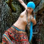 Wild Gipsy Girl in colour by madlynx