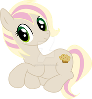 Sitting Candy Muffin by Candy-Muffin
