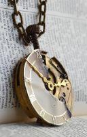 Clockwork necklace by oasiaris