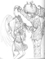 Another angel and demon love by daydreamerxforxlife