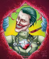 Joker Quitely by VdVector