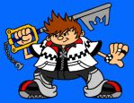 Roxas Gilligan  by pennywhistle444