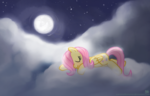 Sweet Dreams Fluttershy by SorcerusHorserus