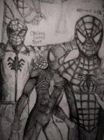 Spidey Sketches by RedJack-Nine