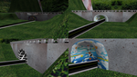 MMD Roads And Bridge Stage by mbarnesMMD