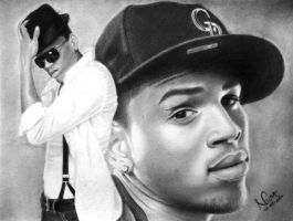 Chris Brown by diamondnura