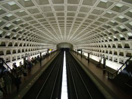 Pentagon City Metro by realPhixion