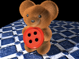 Button Teddy by bflynn22