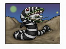 Sandworm by OMEGAMAN91