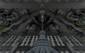 Cathedral of Goth Aliens by GypsyH