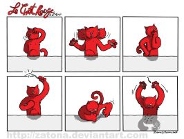 Le chat rouge 5 by Zatona