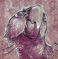 Dramatic Parrot by caramitten