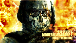 Ghost - Modern Warfare 2 by Supermend