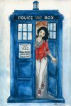 Helena in the Tardis by bllueart