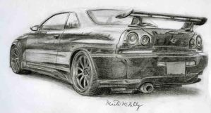 Nissan Skyline by nismo4banger