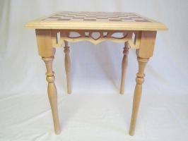 Side view chess table by DMSscroller