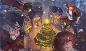 Merry Christmas 2016 by ToshioHD