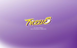 Wallp Trizzies LA Lakers Edit. by seayo