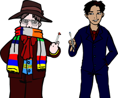 Two Doctors by GrafiteeSon