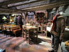 wesley house kitchen  harry potter by Sceptre63