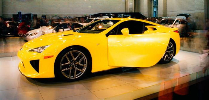 Toyota LFA @ Philly Auto Show by akachrismorgan