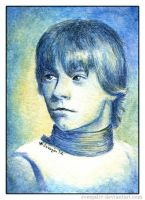 Luke Skywalker ACEO by SvenjaLiv