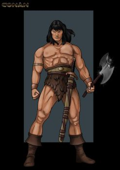 conan  -  commission by nightwing1975
