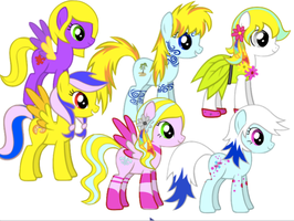 ~FREE PONY ADOPTABLES [ALL ADOPTED]~ by StarCatcherZ