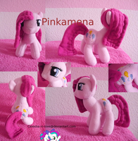 Pinkamena the second by Celestia-In-Love