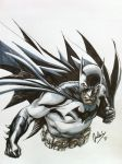 Commission: Batman by julianlopezart
