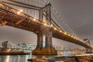 New York at Night by Digibug