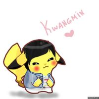 Pikachu-Kwangmin by Camilapiplup