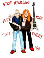Let's f_cking rock together by Red-Szajn