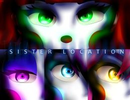 FNaF Sister Location. by Taiga-Kira
