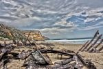 Shipwreck on the Shore by PhotoJac12