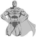 Superman on white by MTF40