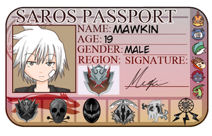 SXL- Mawkin Passport by TheNekoStar