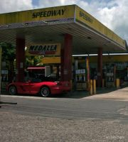 Viper SRT10 at gas station by Mister-Lou