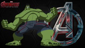 Avengers AOU- Hulk (EMH) by MAD-54