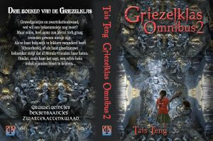Cover proposal for Griezelklas Omnibus 2 by taisteng