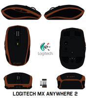 Logitech Mx Anywhere 2 by bagera3005