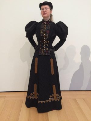 1896 walking costume by ProfessorBats