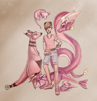 Think Pink - Pokemon by Windnstorm