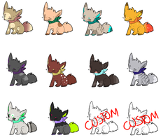 Fox adoptables - [7/12 OPEN] by Screameh-Adopts