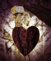 Danbo loves you by marjol3in1977