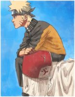 6th Hokage Naruto Uzumaki xd by Finedreth
